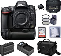 $914 » Nikon D610 Full-Frame DSLR with 50mm f/1.8G AF-S Lens, Complete Bundle with MB-D14 Battery Power Pack, WU-1b Wireless Mobile Adapter, Charger, Extra Battery and Accessories