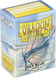 Dragon Shield Sleeves Matte Sky Card Game, Blue - AT-11019