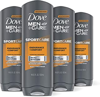 Sponsored Ad - Dove Men+Care Body Wash Endurance & Comfort Effectively Washes Away Bacteria While Nourishing Your Skin 18 ...