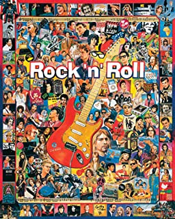 White Mountain Puzzles Rock N Roll - 1000 Piece Jigsaw Puzzle
