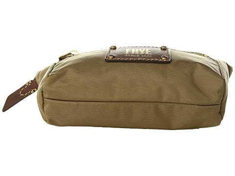 Outlet In UK Outlet Store Sale Online Frye Ivy Nylon Cosmetic Pouch Tan Nylon Clearance How Much fIZAwMY