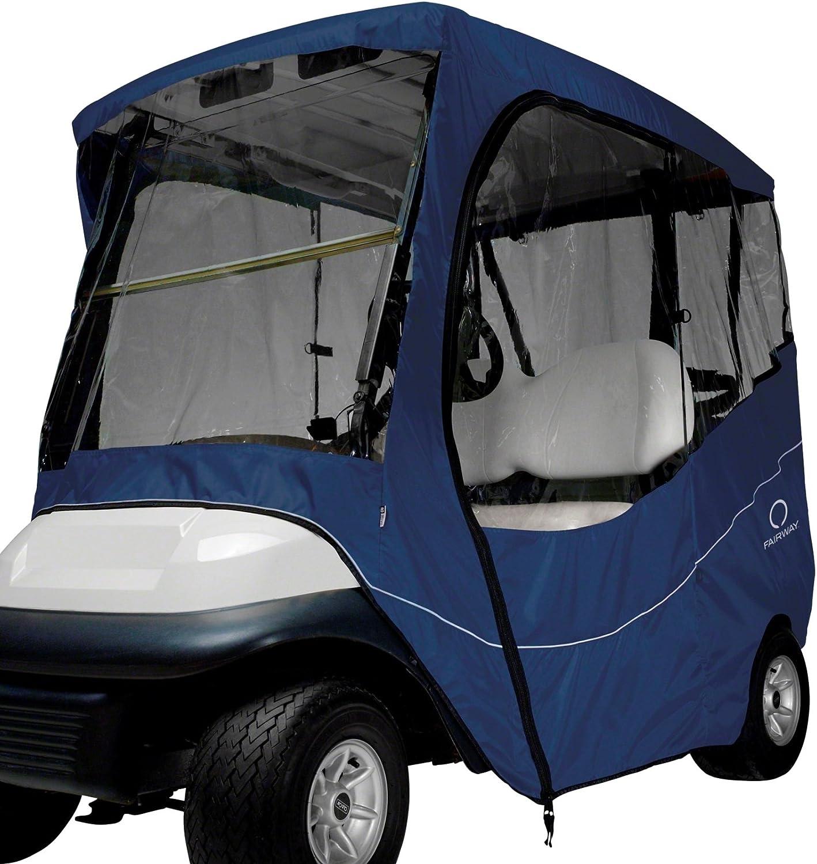 Manufacturer OFFicial Excellence shop Classic Accessories Fairway Golf Cart Travel Navy Enclosure Sh