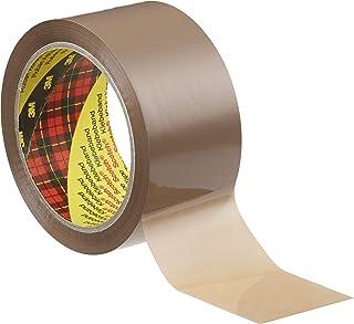 Tape voor de verpakking 3M 305 50x66 Avana LN - 6-pack Havana
