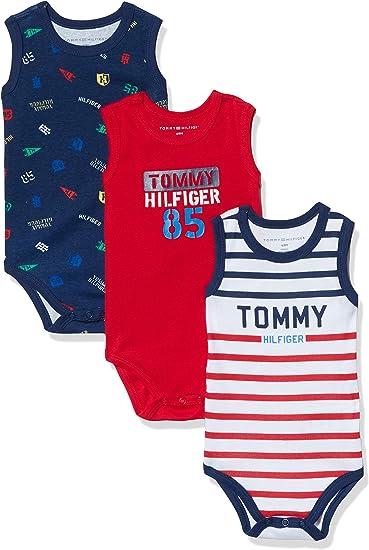 Tommy Hilfiger Baby Boys Poplin Body L//S Shaping Bodysuit