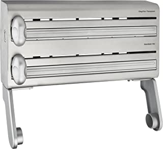 comprar comparacion masterclass Dispensador de Papel Aluminio y Toallas de Cocina, Plata
