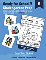 Ready For Kindergarten: Get Ready for School with Math & Literacy Review | Summer Schedule Included | No Prep Packet |...