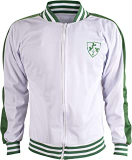 Ireland Jacket Retro Football Tracksuit Zipped Jacket Men Top