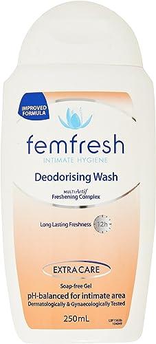 Femfresh Intimate Feminine Hygiene Deodorizing Wash, 250mL
