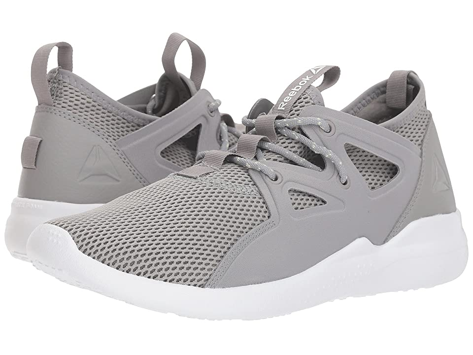Reebok Cardio Motion (Tin Grey/White/Lemon Zest) Women