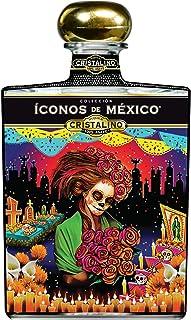 Tequila Íconos de México AÑEJO Cristalino 700ml Edición: Catrina