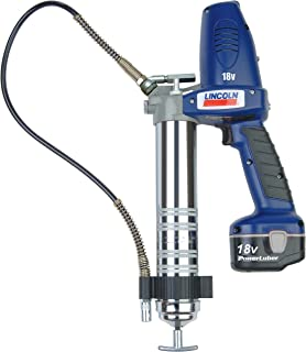 Lincoln Lubrication 1842 18V Powerluber Grease Gun Kit with 1 Battery