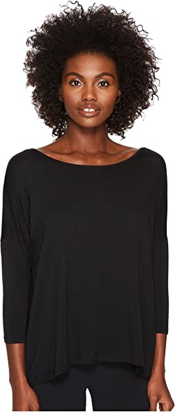 Kate Spade New York x Beyond Yoga - Split Keyhole 3/4 Sleeve Pullover