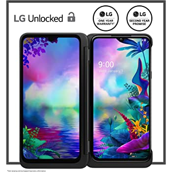 LG G8X Thinq Dual Screen Unlocked Smartphone – 6/128 GB – Aurora Black (US Warranty) – Verizon, AT&T, T–Mobile, Sprint, Boost, Cricket, Metro (Universal Compatibility)