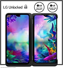 LG G8X Unlocked Smartphone with Dual Screen Accessory – 6/128 GB – Aurora Black (US Warranty) – Verizon, AT&T, T–Mobile, S...