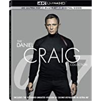 The Daniel Craig Collection 4K UHD + Blu-ray