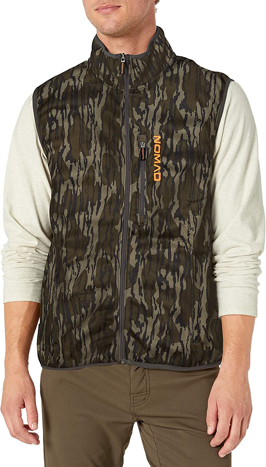 Nomad mens Slaysman Camo Limited price sale Outlet sale feature Vest Fleece S Hunting With Scent