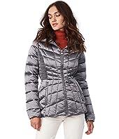 EcoPlume Packable Puffer Jacket in Lust