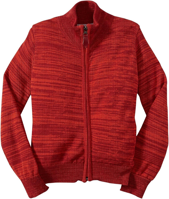 Masala Little Overseas parallel import regular item Boys' Melange Sweater Kid - OFFer Toddler Spicy Orange