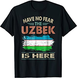 Vintage Uzbekistan Have No Fear The Uzbek Is Here T-shirt