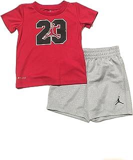 5f756ed9a3c Jordan Jumpman Little Boys Tank Top and Shorts Set Light Photo Blue Size 4
