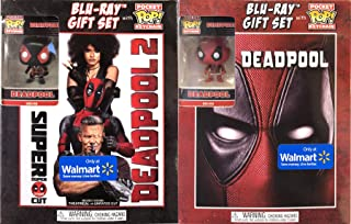 Exclusive Merc With A Mouth Edition Blu-Ray With Pocket Pops: Deadpool Gift Set & Deadpool 2 (Super Duper $@%!#& Cut) 2- Disc Blu-Ray Gift Set (Blu-Ray + Key Chain Bundle 2 Pack)