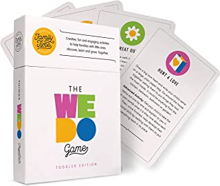The WeDo Game – Toddler Edition – Australian Card Game Gift Idea for 2 3 4 Year Old Kids and Parents | Creative, Fun, Screen-Free Activities Present for Families to do. Together.