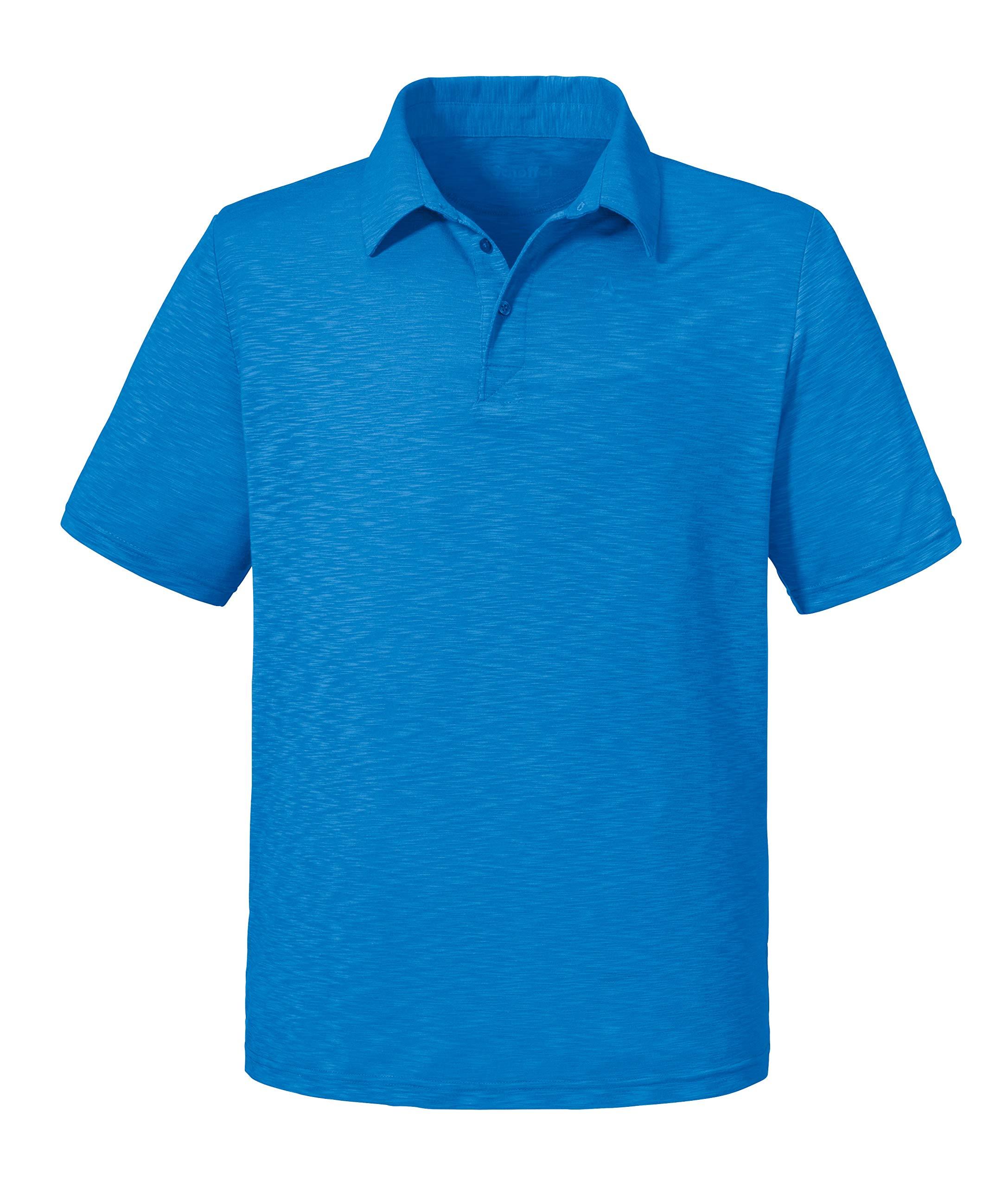 Schöffel Polo Shirt Izmir1, bequemes und leichtes Polohemd aus 2-Wege-Stretch,