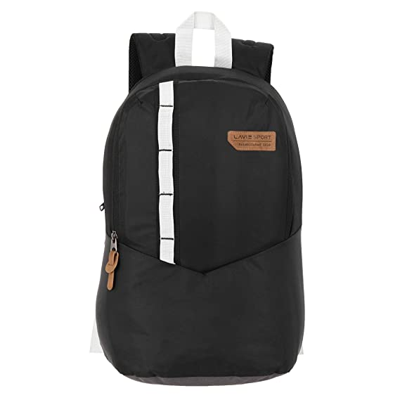 Lavie Sport 24 Ltrs Black Casual Backpack (BDEI916019N4)