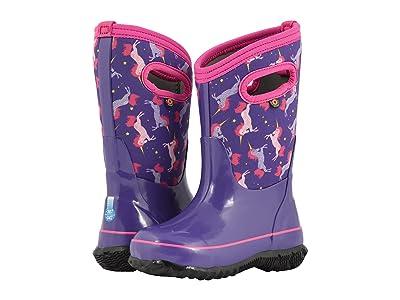 Bogs Kids Classic Unicorns (Toddler/Little Kid/Big Kid) (Purple Multi) Girl