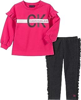 Calvin Klein Girls' 2 Pieces Leggings Set