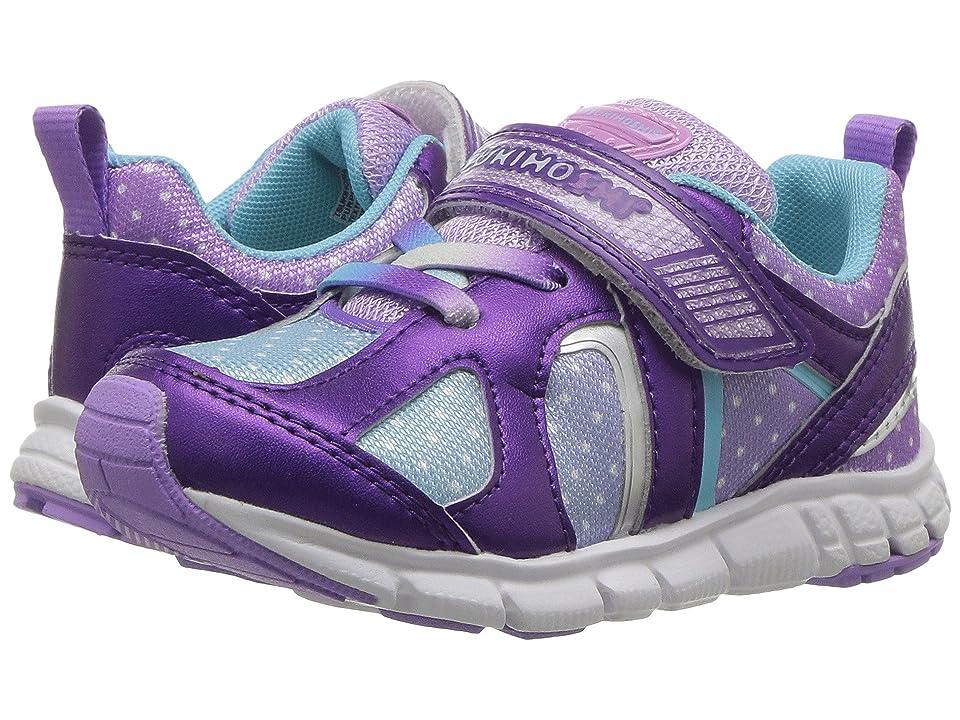 Tsukihoshi Kids Rainbow (Toddler/Little Kid) (Purple/Light Blue) Girls Shoes