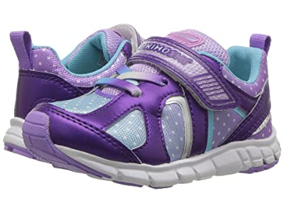 Tsukihoshi Kids Rainbow (Toddler/Little Kid) (Purple/Light Blue) Girls Shoes