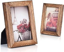 قاب عکس Emfogo 4x6 نمایش عکس برای نمایش Tabletop Wall Wall جامد چوب جامد با کیفیت بالا با کیفیت بالا