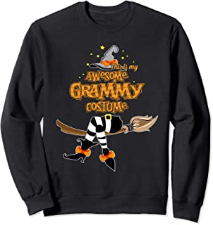 This Is My Awesome Grammy Costume - Halloween Sweatshirt