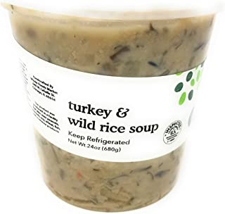 Whole Foods Market, Turkey And Wild Rice Soup, 24 Ounce