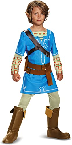 Link Breath Of The Wild Deluxe Costume 14-16