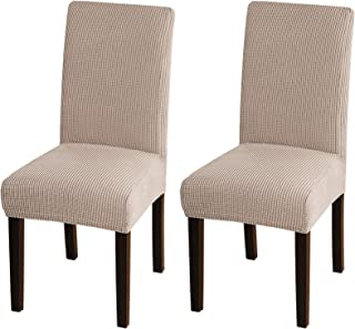 Turquoize Chair Covers for Dining Room Dining Chair Covers Set of 2 Stretch Dining Chair Slipcover Parsons Chair Covers Re...