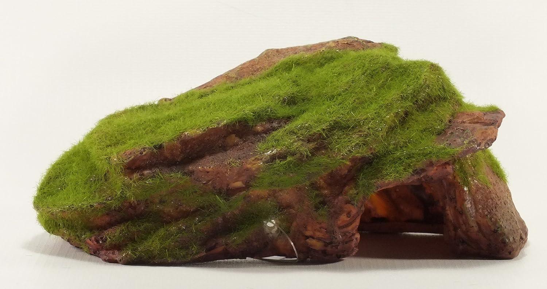 Rock With Moss Aquarium Ornament