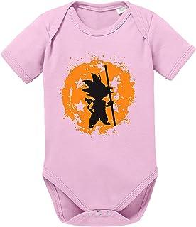 Tee Kiki Son Bruch Dragon Ball Strampler Bio Baumwolle Baby Body Jungen & Mädchen 0-12 Monate