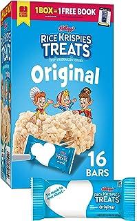 Rice Krispies Treats Marshmallow Snack Bars, Kids Snacks, School Lunch, Value Pack, Original,...