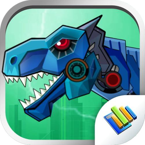 Dinosaur Robot Wars