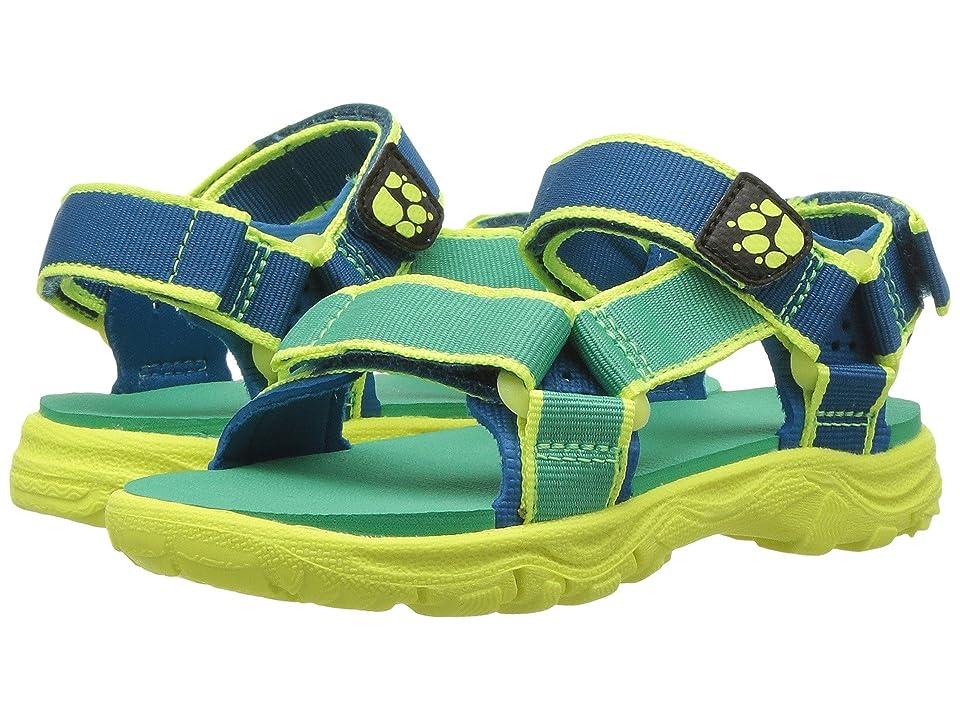 Jack Wolfskin Kids Seven Seas 2 Sandal (Toddler/Little Kid/Big Kid) (Sea Breeze) Boys Shoes