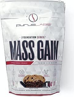 Purus Labs Mass Gain   Premium Clean Mass Weight Gainer (Chocolate Cookie Crunch, 10lbs)