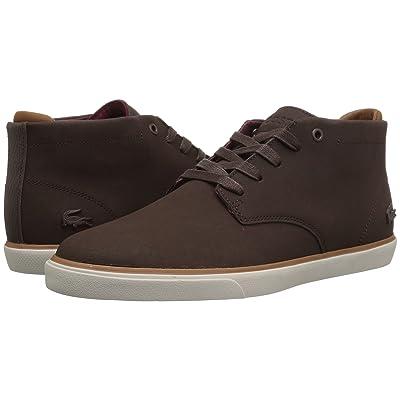 Lacoste Esparre Chukka 318 1 (Dark Brown/Brown) Men