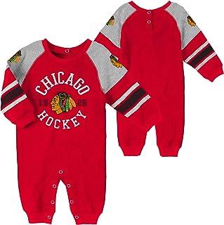 Reebok Chicago Blackhawks Infant//Toddler Boys Fan Jersey Creeper-1441-10447