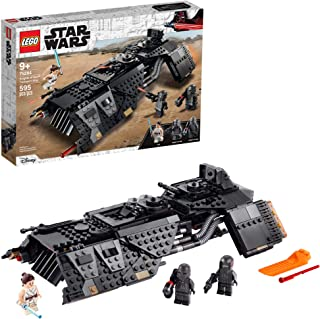 LEGO Star Wars: The Rise of Skywalker Knights of Ren Transport Ship 75284 Spacecraft Set, Features Knights of Ren and Rey ...