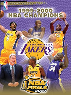 1999-2000 NBA Champions - Los Angeles Lakers