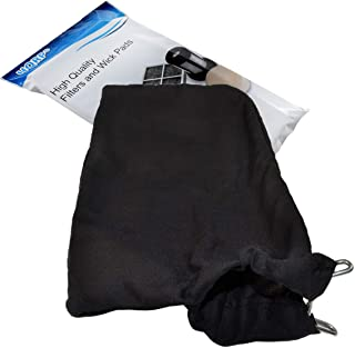 HQRP Dust Bag compatible with Hitachi C12FA C12FCH C12FDH C12FSA C12LC C12LCH C12LDH C12LSH C12RSH C12RSH2 12-inch Miter Saws