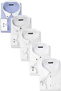 [アトリエサンロクゴ] ワイシャツセット ワイシャツ 5枚セット 形態安定 長袖Yシャツ ワークシャツ ビジネスワイシャツ メンズ