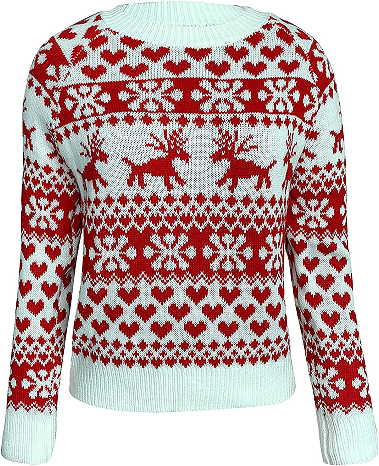 Kanzd Christmas Sales Ranking TOP8 Crewneck Sweaters for Long Sleeve Fashion Women